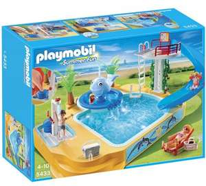 Playmobil Summer Fun 5433 Children's Pool with Whale Fountain £18.16 @ Amazon