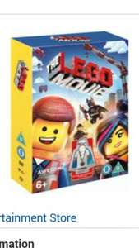 The LEGO Movie (Includes LEGO Minifigure Vitruvius) (DVD) @ Ratuken (The Entertainment Store) - £5