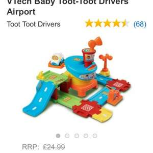 Vtech toot toot driver airport £18.16 & free delivery - Amazon