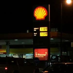 York Shell cheaper unleaded petrol £1.19 per litre