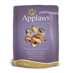 Free sample of Applaws cat/dog food