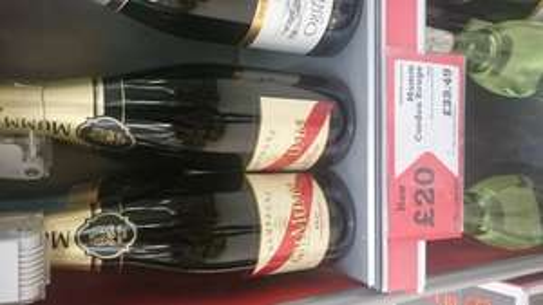 Mumm Cordon Rouge champagne £20 at Morrisons