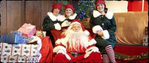 Father Christmas Sleepovers at Chessington from £99 for a Family of 4 [Includes: Meet Father Christmas & his elves / 1 night at Chessington Safari or Azteca Hotel / Evening Entertainment  / Breakfast / Access to Chessington Zoo & SEA Life Centre]