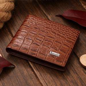 Servnik Designer Crocodile Wallet - Great Christmas Gift £3.49 @ eBay / B&K Warehouse