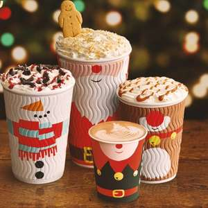 Any small (Primo) festive drink for £2 @ Costa Coffee