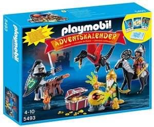 Playmobil Christmas 5493 Advent Calendar Dragons Treasure Battle £13.80 delivered @ Amazon