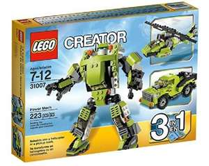 LEGO Creator 31007: Power Mech 3in1 £9.40 (Free delivery on orders over £10) @ Amazon