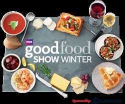 BBC Good Food Show Winter £30 for 2 Tickets Flash Sale this weekend only @ theticketfactory