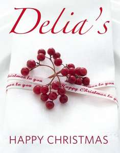 Delias Happy Christmas (Hardcover) on Amazon UK   £3.99 with Free delivery on prime (or add more items for free super saver delivery for orders of £10.00 if you have not got prime)