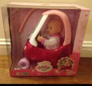 Baby Born and Cozy Coupe Set £16.59 @ Argos