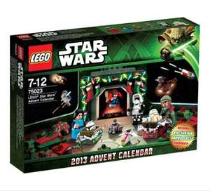 Lego Star Wars advent calendar (2013) £12.00 in store at heatons