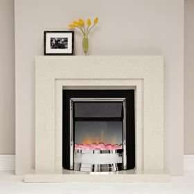 £97 was £305 Dimplex Zamora Freestanding Flame Effect Electric Fire @ B&Q