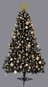 6 ft Christmas tree (green, white or black) £9.99 @ B&M