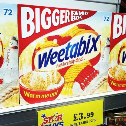 weetabix 72's £3.99 @ Home bargains