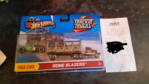 Hot Wheels Bone Blazer Truck 0.04p @ Tesco