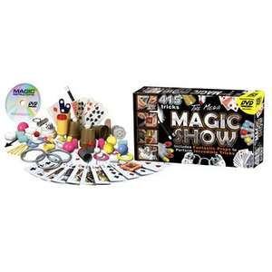 Mega Magic Show 415 Tricks with DVD £12.49 was £25 at Toys R Us