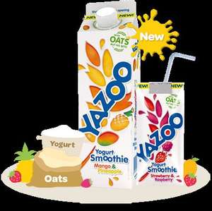 Free yazoo yogurt drink - Free voucher