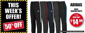 Adidas Samson woven tracksuit  various designs for £14.99 + p&p until 15/11/14 @ Sports direct
