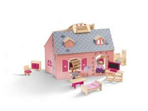 Wooden Dolls House or Farmhouse Set for £19.99 at Lidl from Monday 17th November