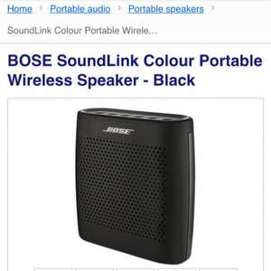 Bose Soundlink Colour Wireless Speaker + 30 day free trial of Deezer Premium+ £119.95 @ Currys