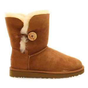 UGG® Australia Womens Chestnut Bailey Button UGG Boots at Hurleys £132.65 delivered