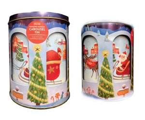 M&S Christmas Rotating Musical Carousel Tin £5.00 instore at Marks & Spencers