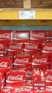 30 pack coke cans £5.99 @ Costco