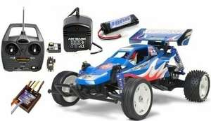 Tamiya £94.99  RC deal - Rising Fighter buggy BARGAIN BUNDLE DEAL - Everything for just £94.99! @ Time Tunnel Models