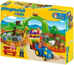 Playmobil 1.2.3 6754 123 Large Zoo - £14.53 delivered @ Amazon