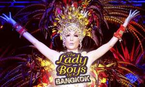 Lady Boys of Bangkok: Red Hot Kisses Tour Premium Thai Experience With Meal for £24 (40% Off) @ Sheffield nov/dec 2015, treat your dad for Xmas (groupon)