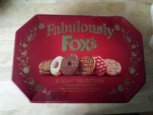 fabulously Fox's biscuit selection 600g Tin - Morrisons - 2 for £7