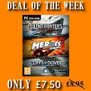 Ubisoft War Pack 3 Games in one pack only £7.50 this week only @ 4gamersuk.com