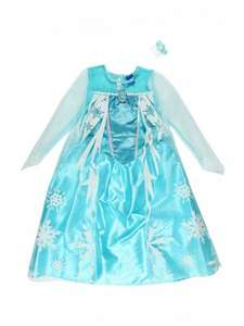 Elsa frozen dress up gown. Ages 3-4 5-6 & 7-8 available. Only £15. At peacocks in store. Such beautiful quality for the price