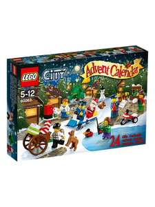 Lego city advent calendar £14.97 @ asda direct , collect in store or £2.95 delivery