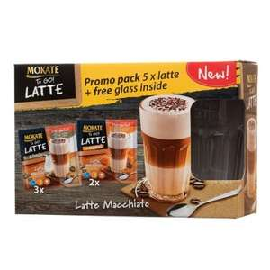 Mokate Coffee Gift Pack - Iced Latte 10p @ B&M