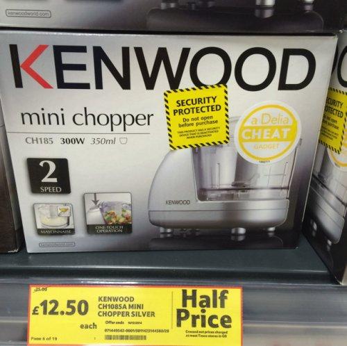 Kenwood Mini Chopper Silver £12.50 @ Tesco