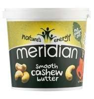 Meridian 1kg Cashew Butter £9.65 Delivered @ Dolphin Fitness
