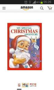 Personalised Christmas book £7.49 + £2.99 Delivery @ ASDA