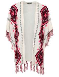 Asda George .Aztec Blanket Wrap Cardigan £5 click/collect.