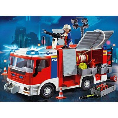 Playmobil fire engine £20 instore @ asda