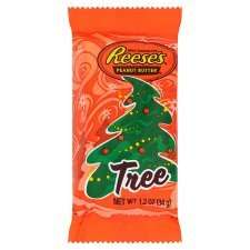 Reese's Peanut Butter Christmas Tree  -  3 for £1   (33p each)  at Tesco
