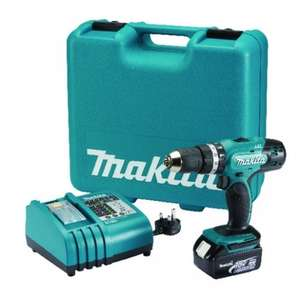 Makita DHP453RFTK 18V 3.0Ah Li-Ion Cordless Combi Drill & 101 Accessories £129.99 @ screwfix