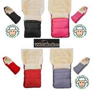 Woolibaloo 100% New Zealand Lambswool Footmuff £34.95 @ bounty