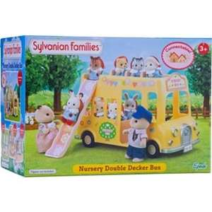Sylvanian Families Nursery Double Decker Bus £12.99 @ Argos (was £24.99)