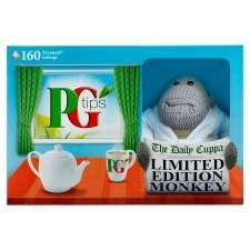 PG TIPS 160 TEABAG BOX + LIMITED EDITION MONKEY £2.50 @ Tesco instore