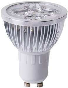 10 Pack SunSolar 4W Ultra Bright GU10 LED Bulbs Cool White 4200k, Spotlight £19.98 @ ebay / allcam_uk