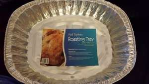 Foil Roasting Trays 59p at Home Bargains
