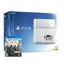 PS4 White Console + Assassin's Creed Unity Special Edition £349.85  @ Shopto 4% cashback via ilovecashback