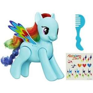 My Little Pony Flip n' Whirl Rainbow Dash £10.99 (half price) @ Argos