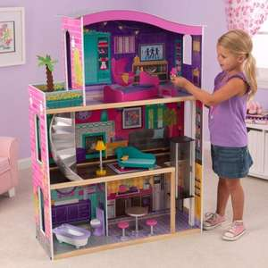 Kidkraft City Lights Doll House At Smyths Toys - £59.99